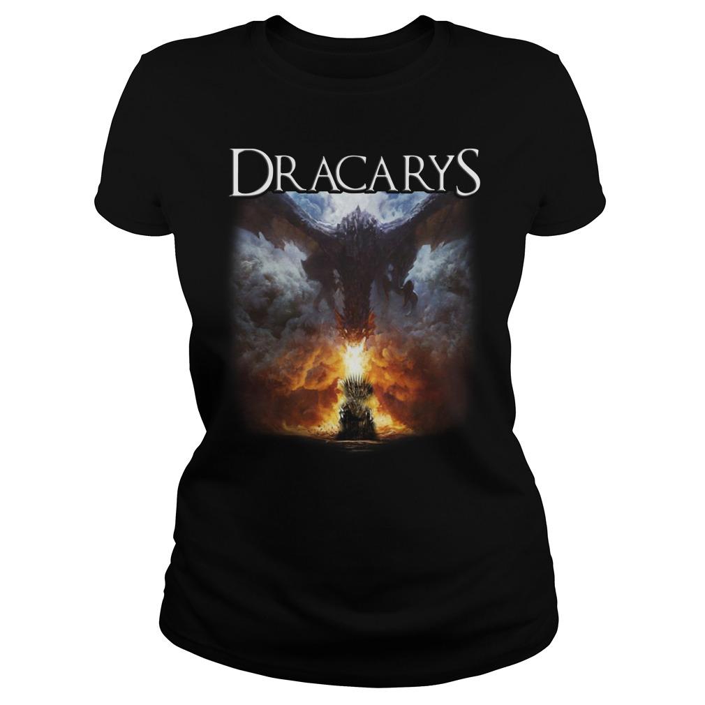 Game of Thrones Dracarys Ladies Tee