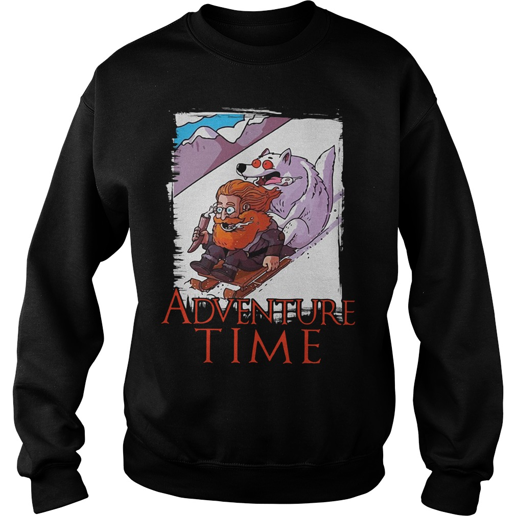 Game Of Thrones Tormund Giantsbane snowboarding adventure time Sweater