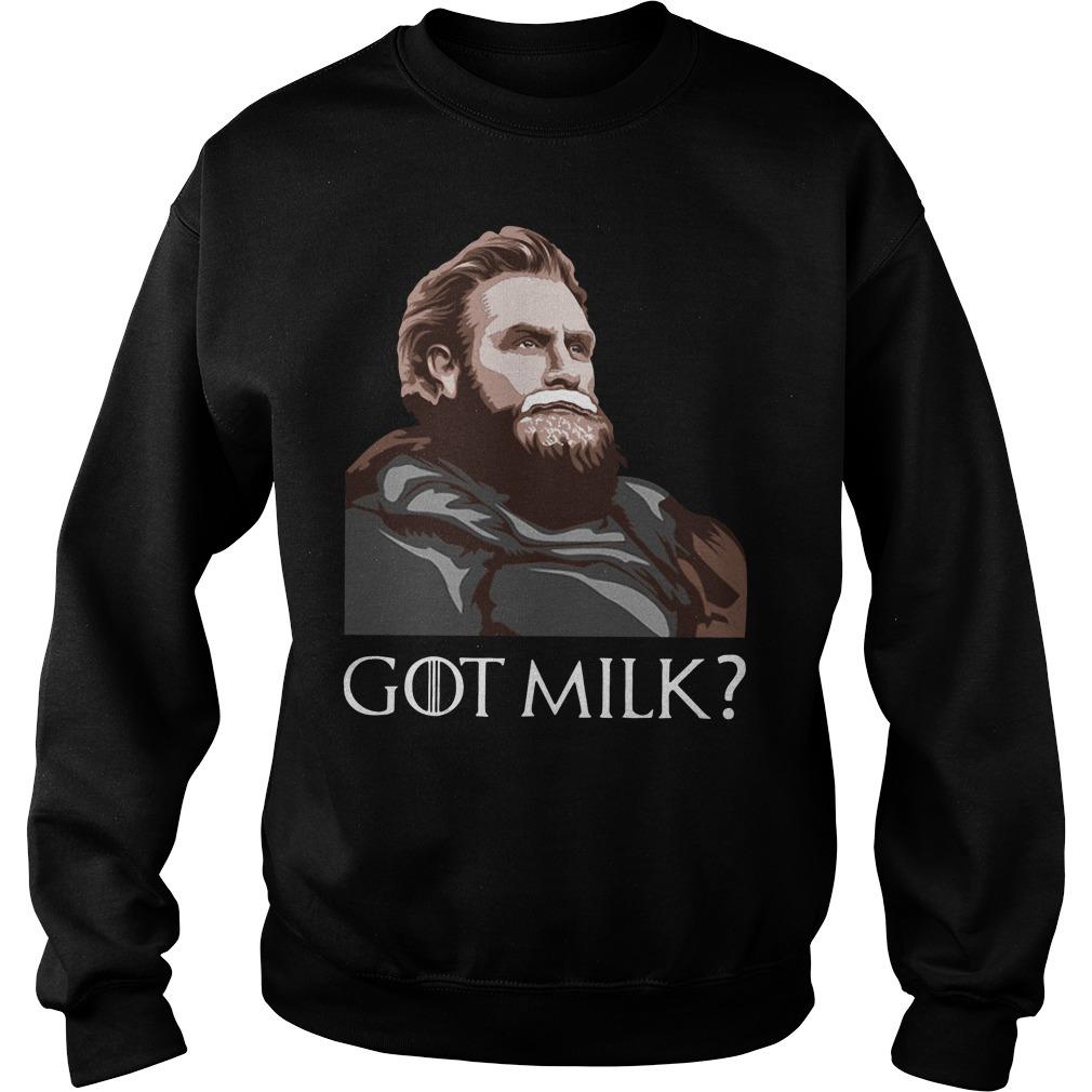 GOT milk Tormund Giantsbane Game of Thrones Sweater