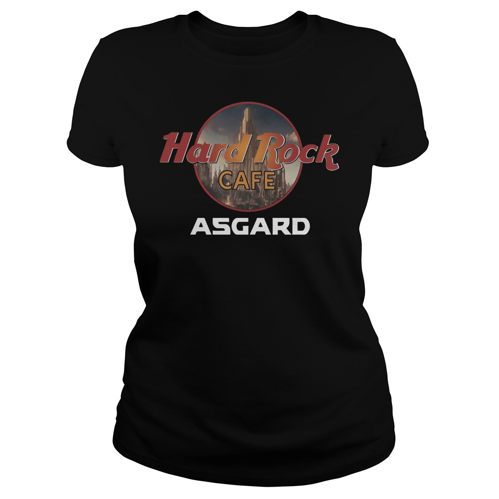Hard rock cafe Asgard Ladies Tee