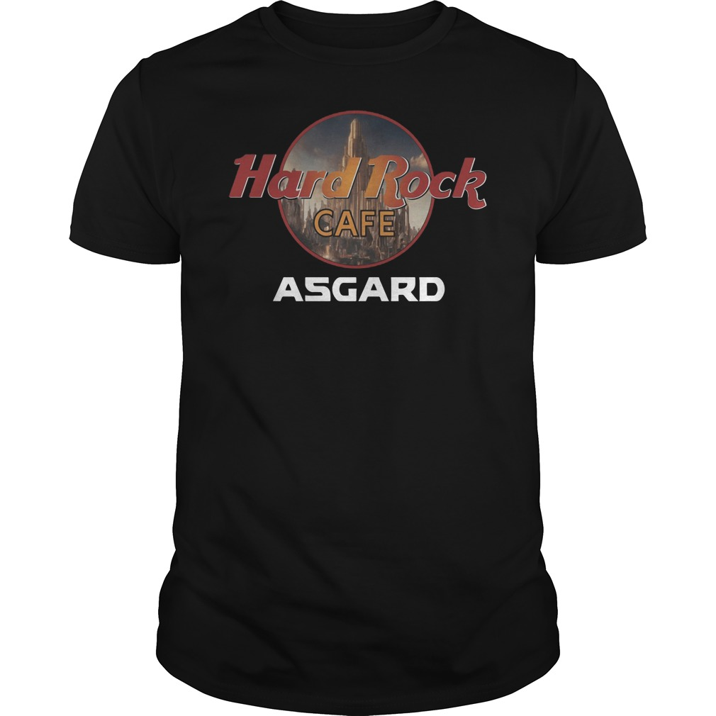 Hard rock cafe Asgard shirt
