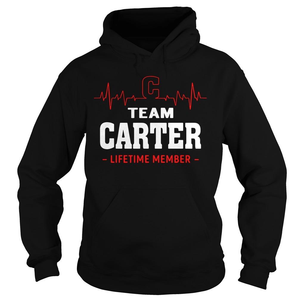Heartbeat C team Carter lifetime member Hoodie