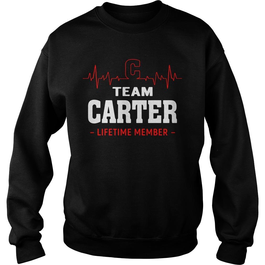 Heartbeat C team Carter lifetime member Sweater