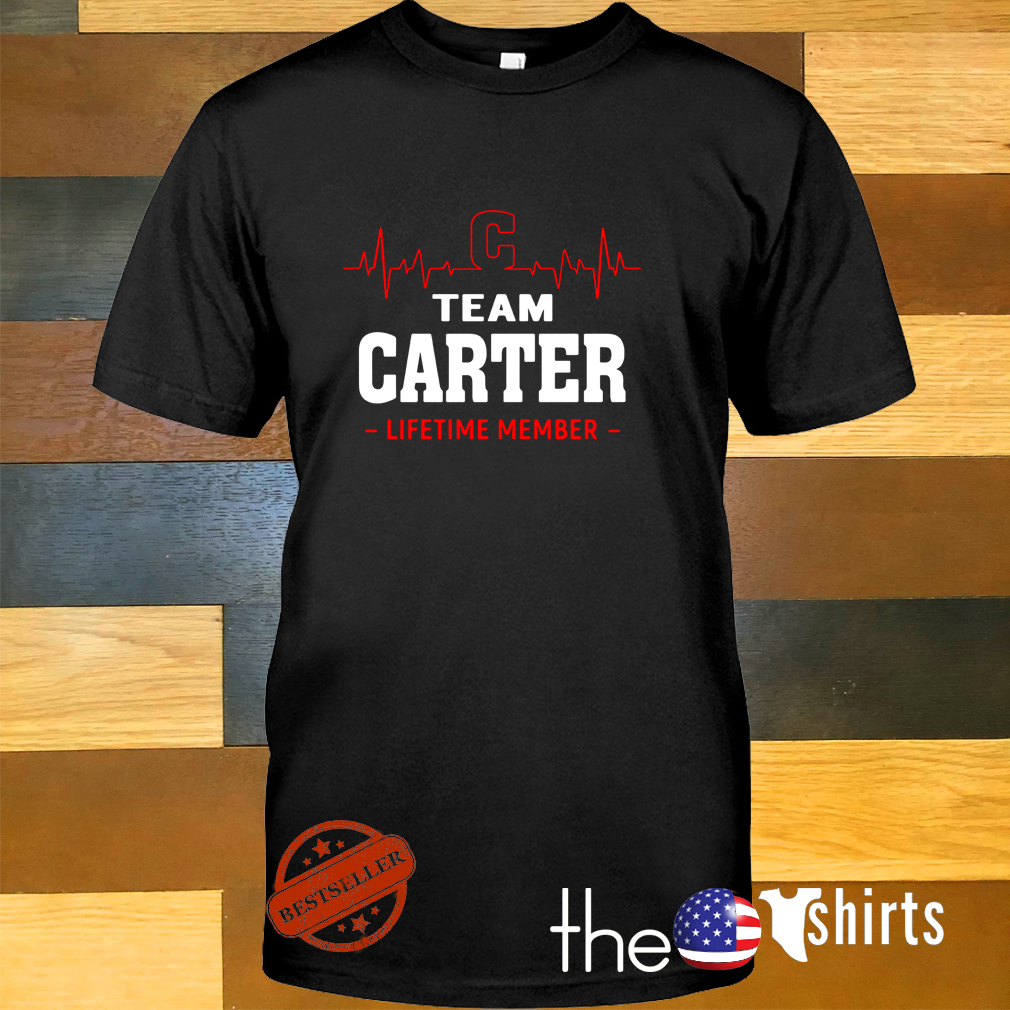 Heartbeat C team Carter lifetime member shirt