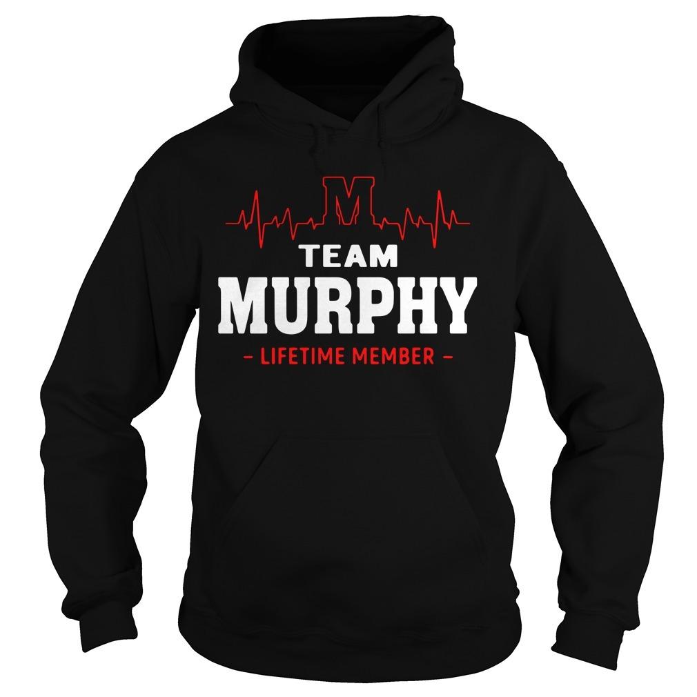 Heartbeat M team Murphy lifetime member Hoodie