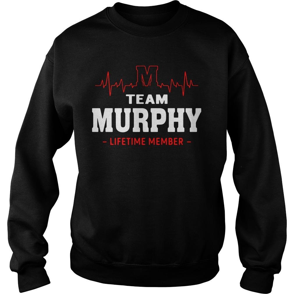 Heartbeat M team Murphy lifetime member Sweater