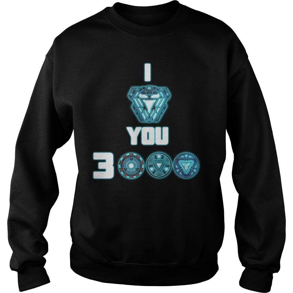 I love you 3000 Iron Man Sweater