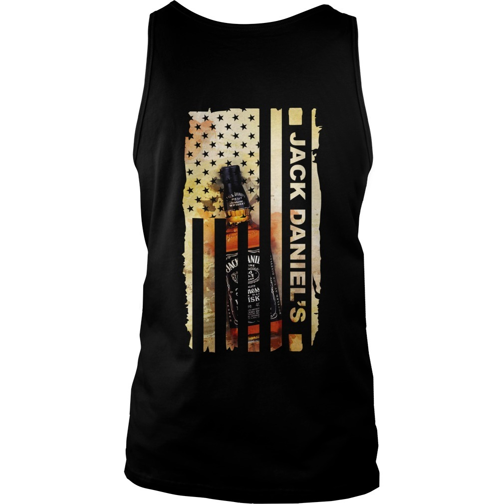 Jack Daniel's Veteran US flag Tank top