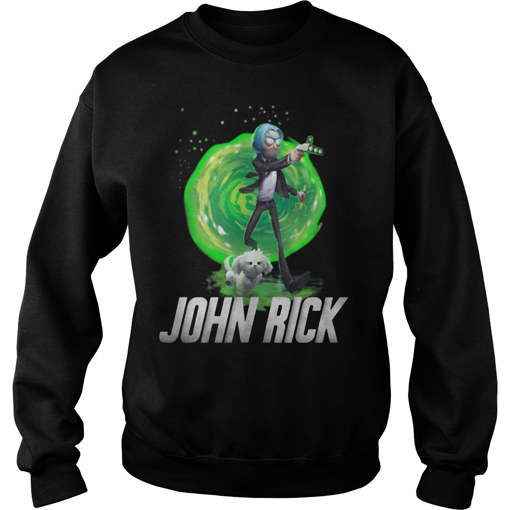 John Rick John Wick Rick and Morty Sweater