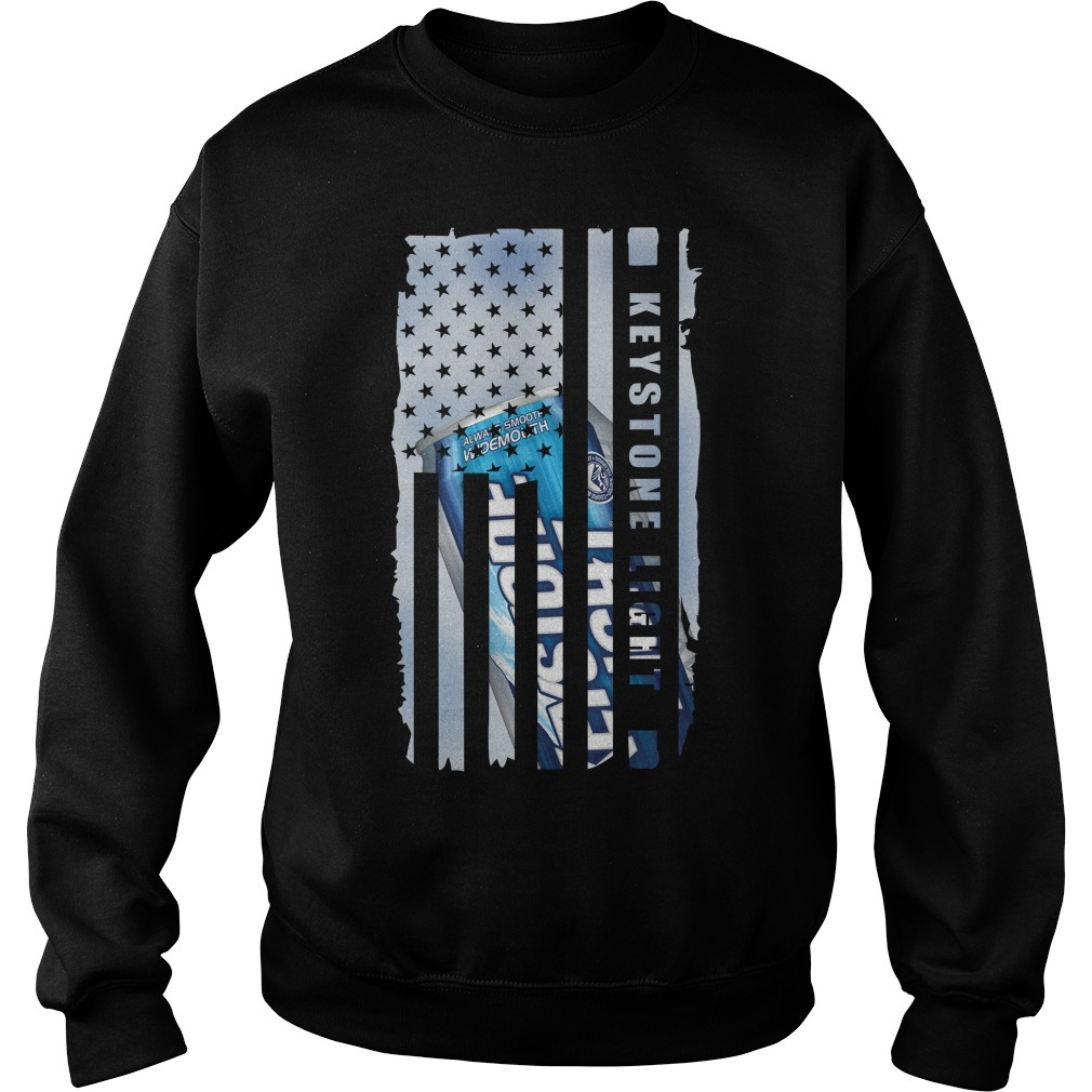 Keystone Light independence day American flag Sweater