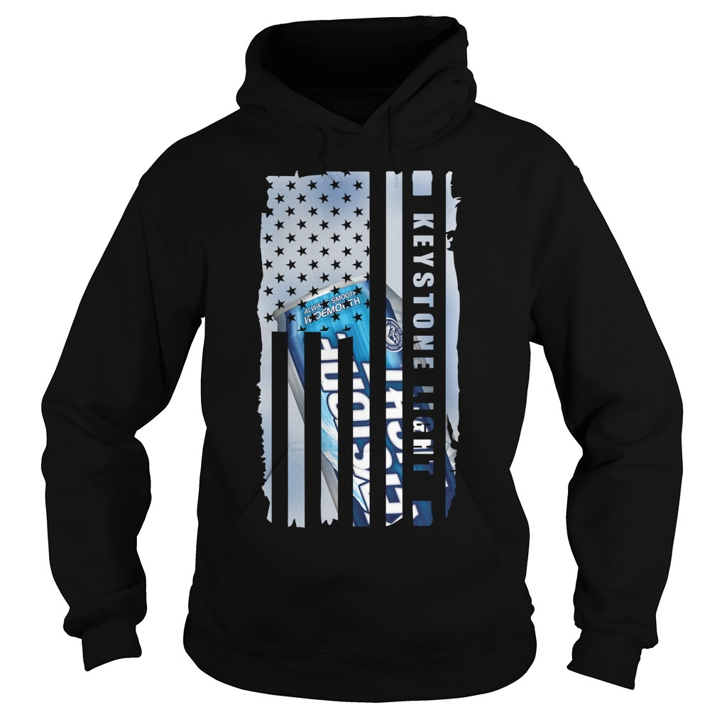 Keystone Light independence day American flag Hoodie