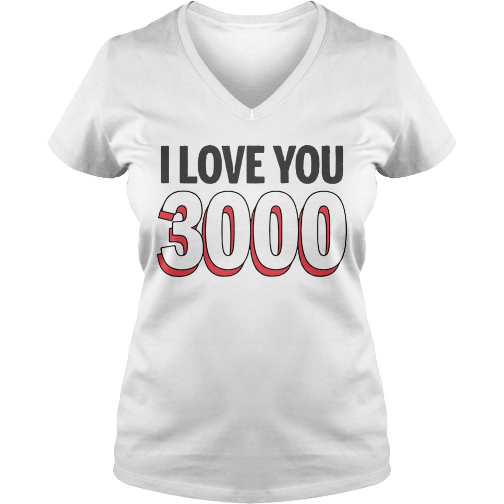 I love you 3000 times V-neck T-shirt