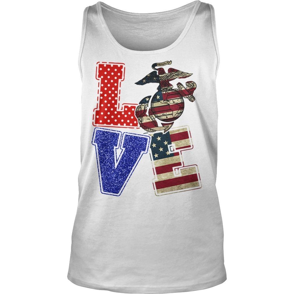 Love American Marine Tank top