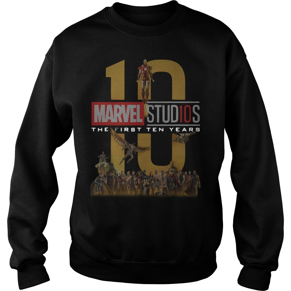 Marvel Studios the first ten years full cast Sweater
