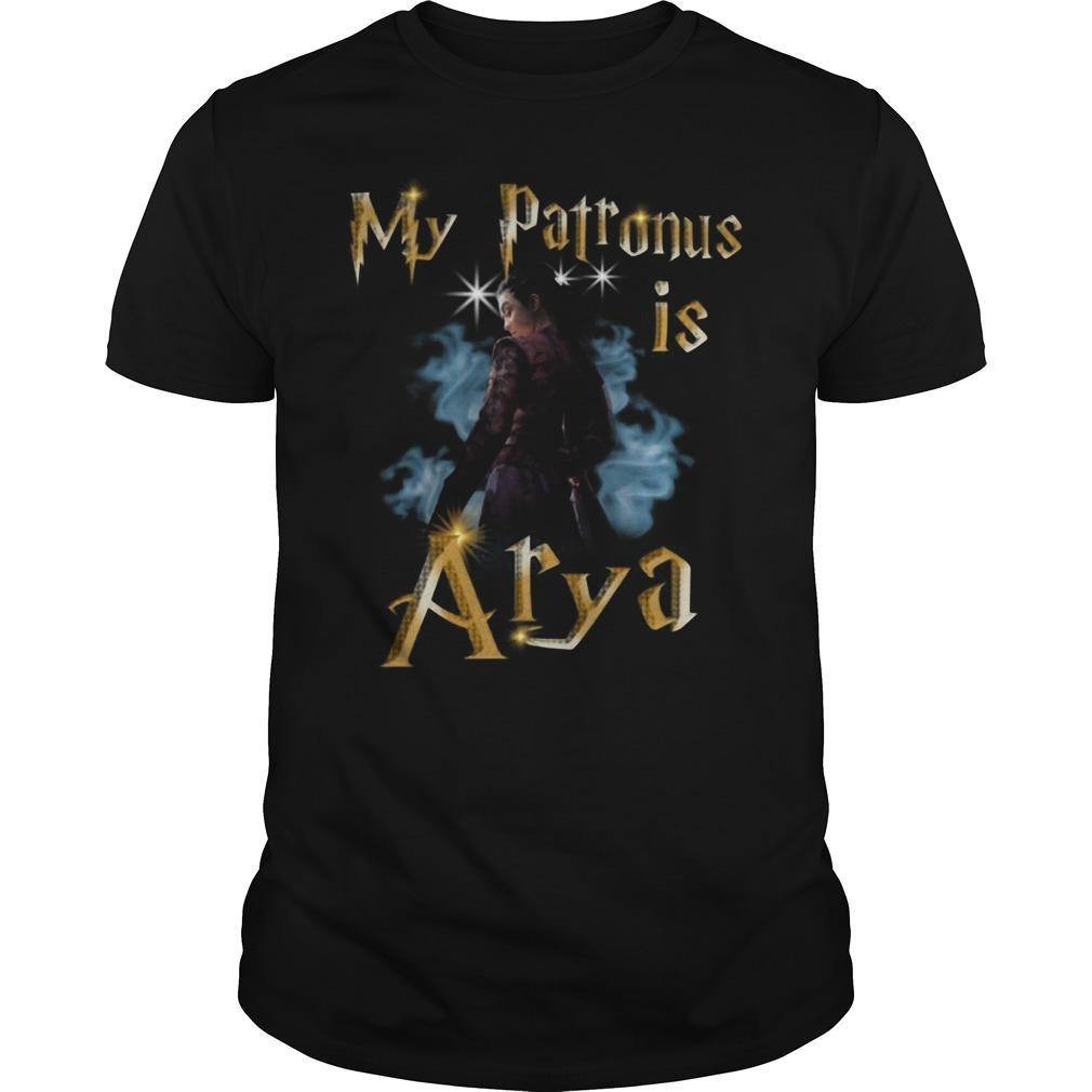 My Patronus Is Arya Stark Game of Thrones shirt