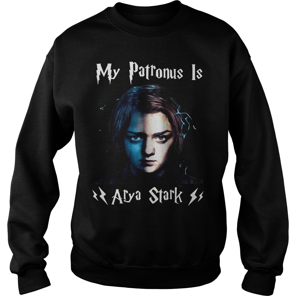 Official my patronus Is Arya Stark Game of Thrones Sweater