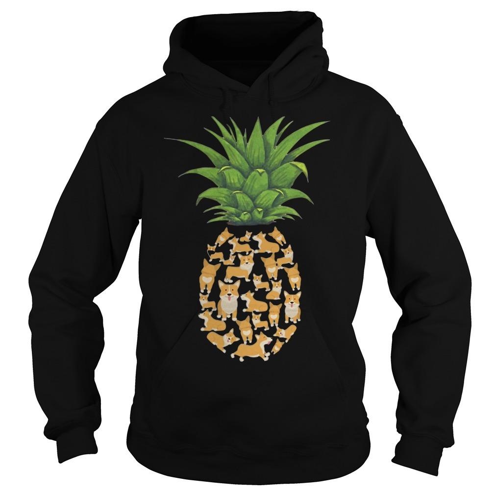 Pineapple Corgi Hoodie