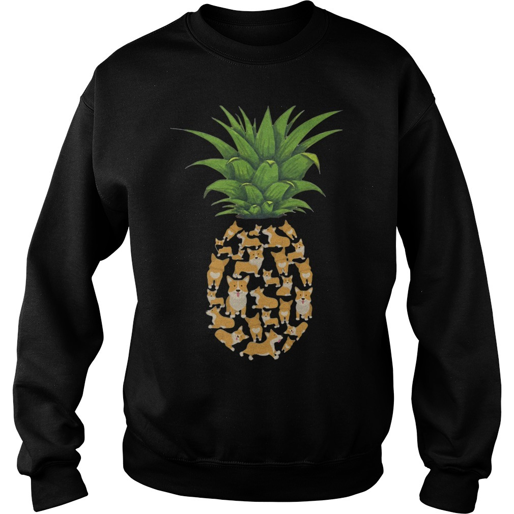 Pineapple Corgi Sweater