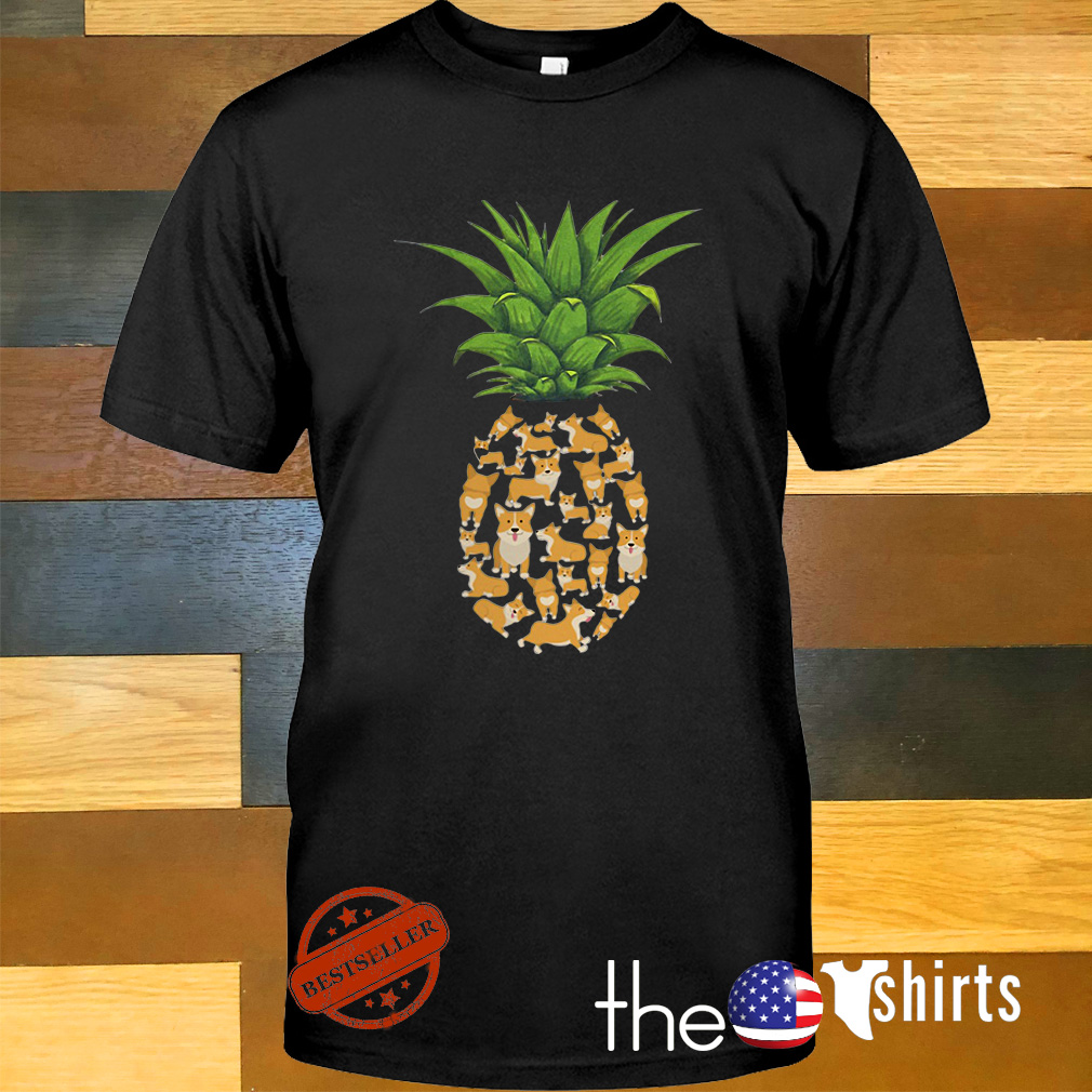 Pineapple Corgi shirt