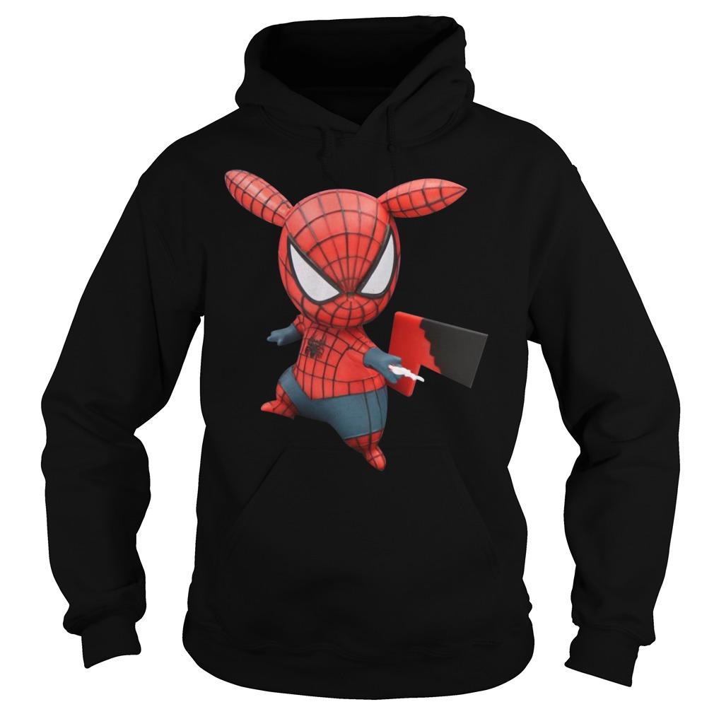 Pokemon Pikachu Spider Man Hoodie