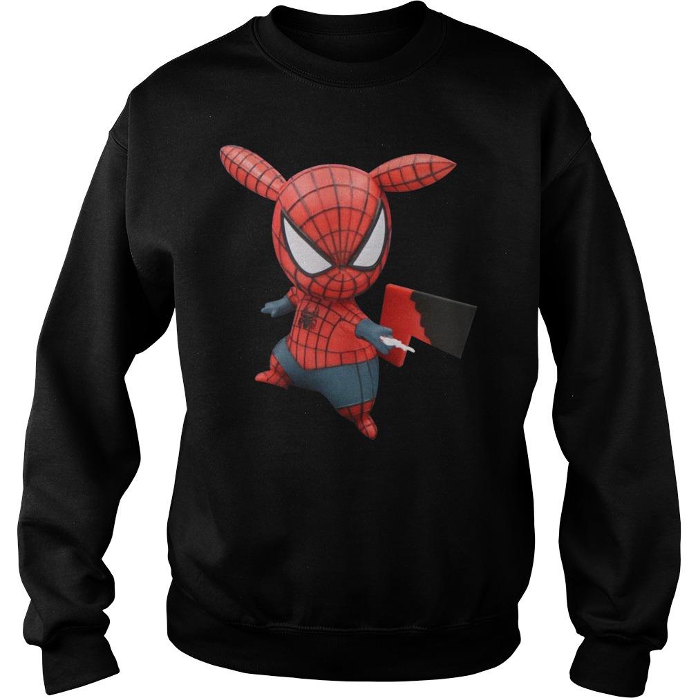Pokemon Pikachu Spider Man Sweater