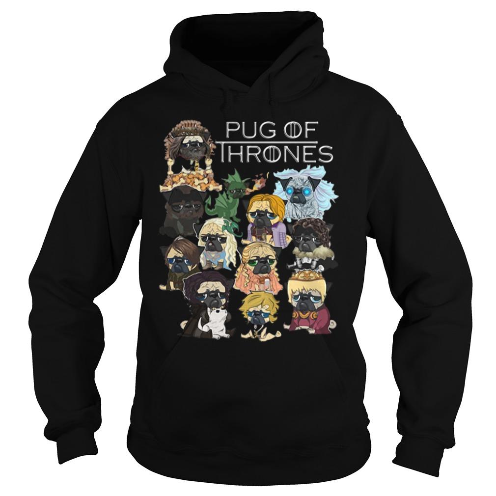 Pug Game of Thrones Hoodie