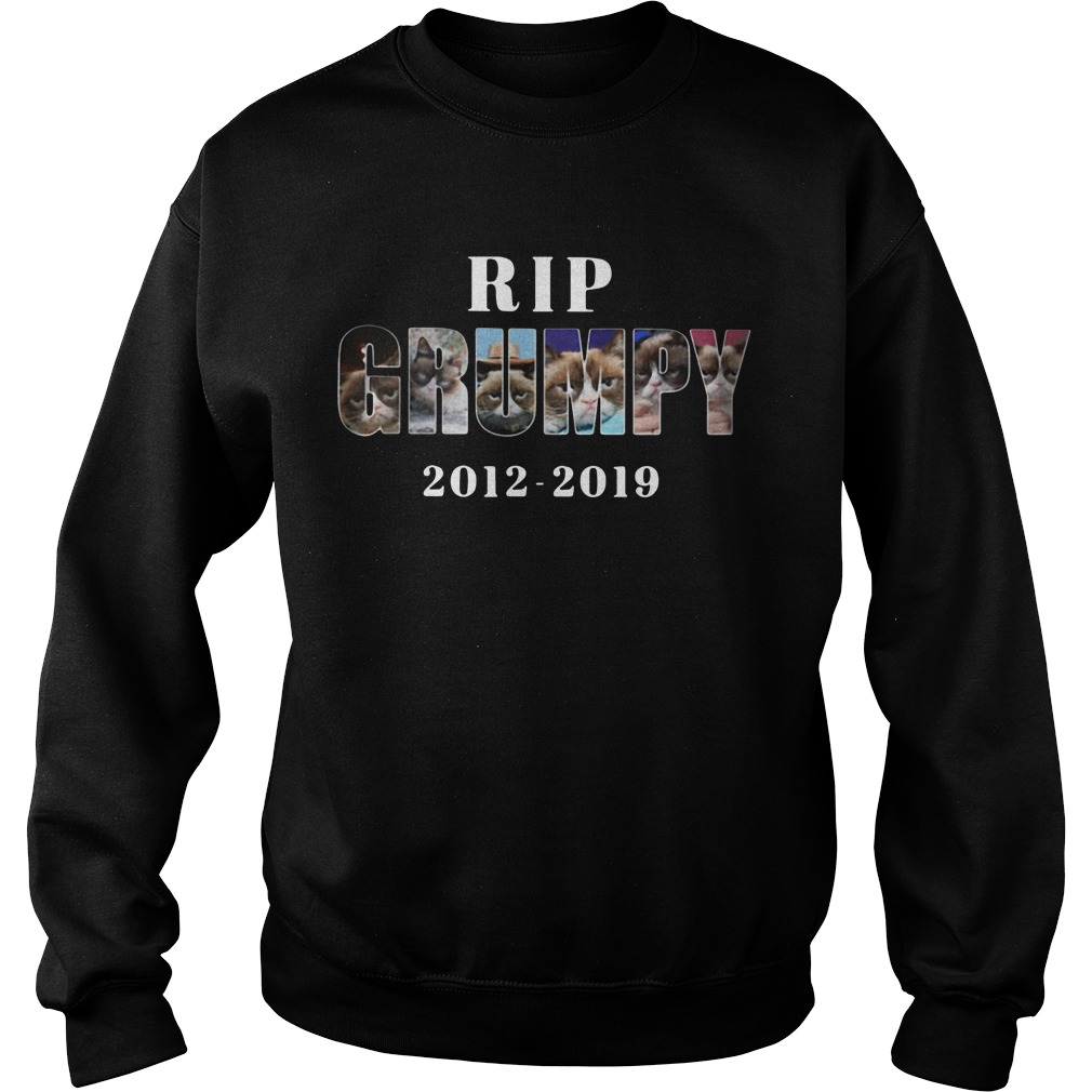 Rip Grumpy cat 2012-2019 Sweater