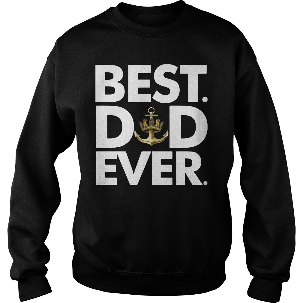Royal Navy best dad ever Sweater
