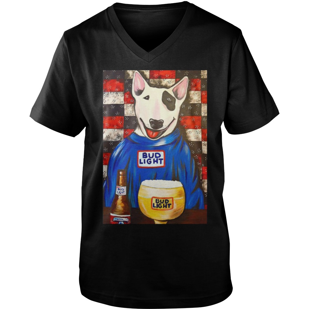 Spuds Mackenzie Bud Light bar Guy V-Neck