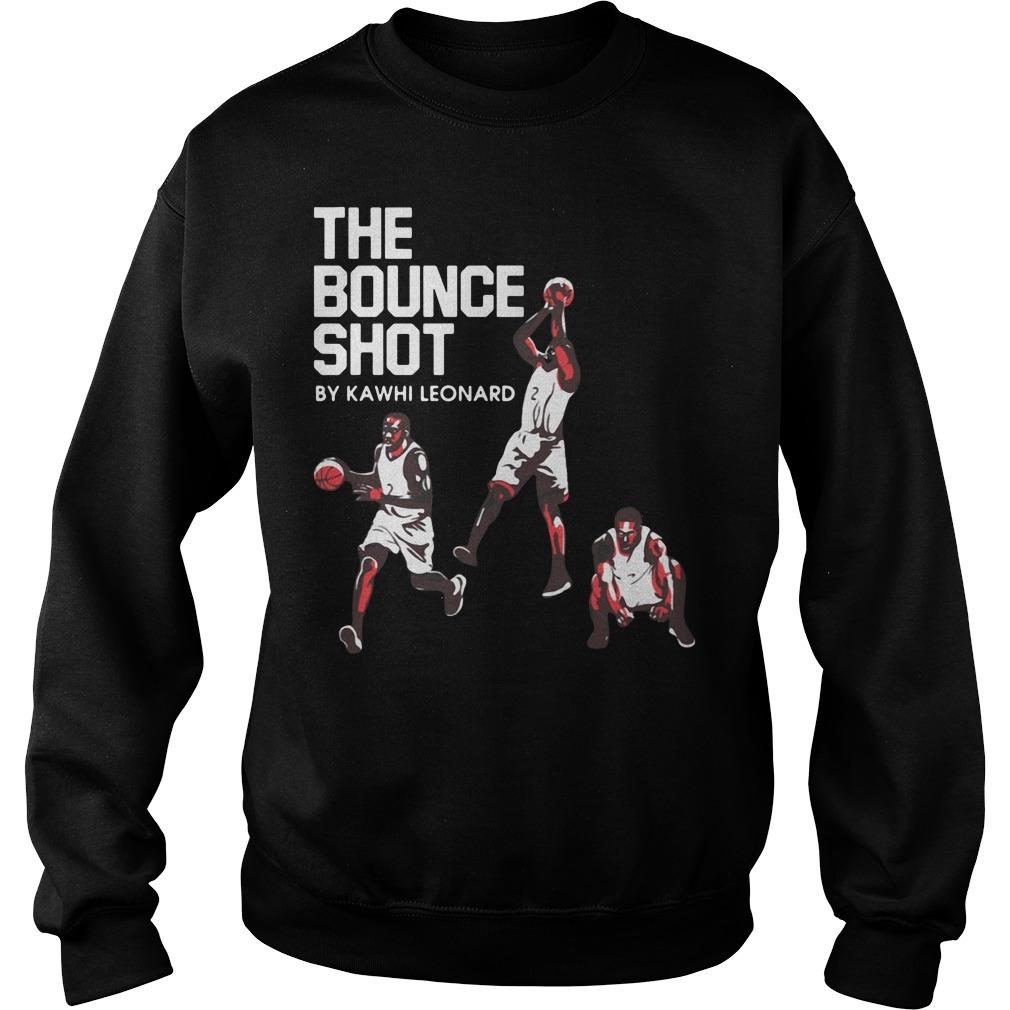 The bounce shot by Kawhi Leonard Sweater