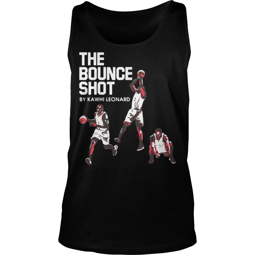 The bounce shot by Kawhi Leonard Tank top