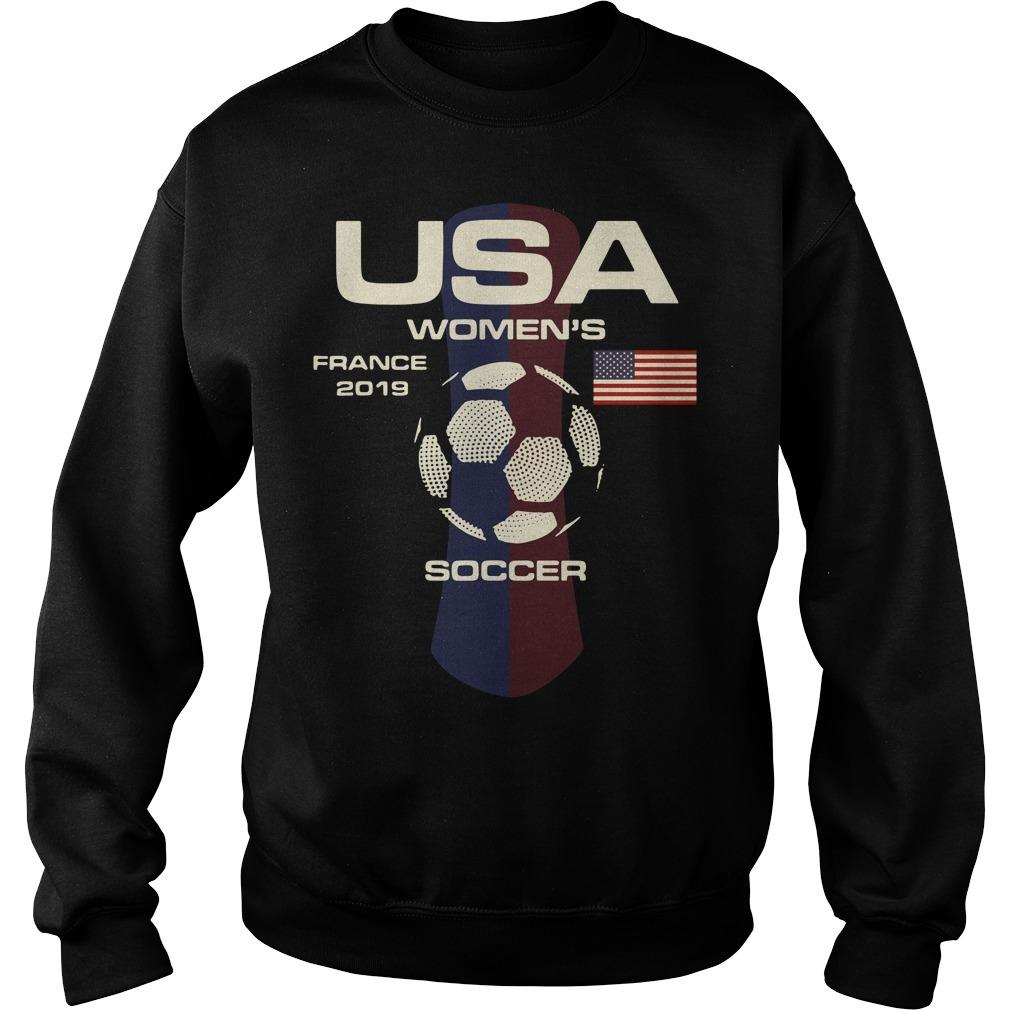 USA women's France 2019 soccer Sweater