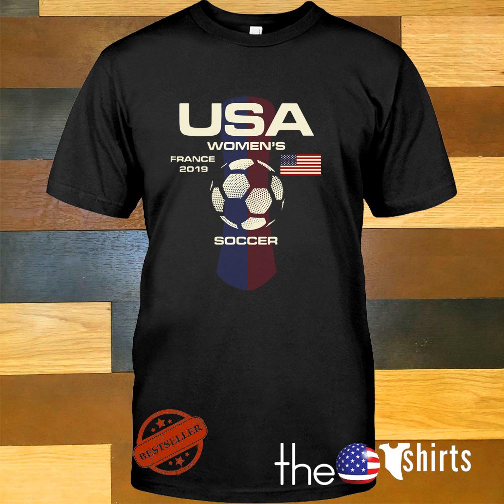 USA women's France 2019 soccer shirt