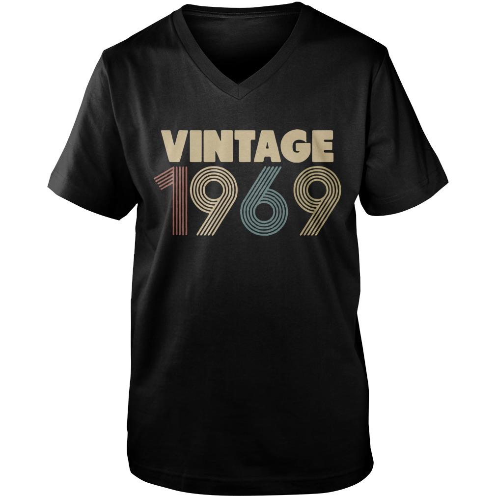Vintage 1969 Guy V-Neck