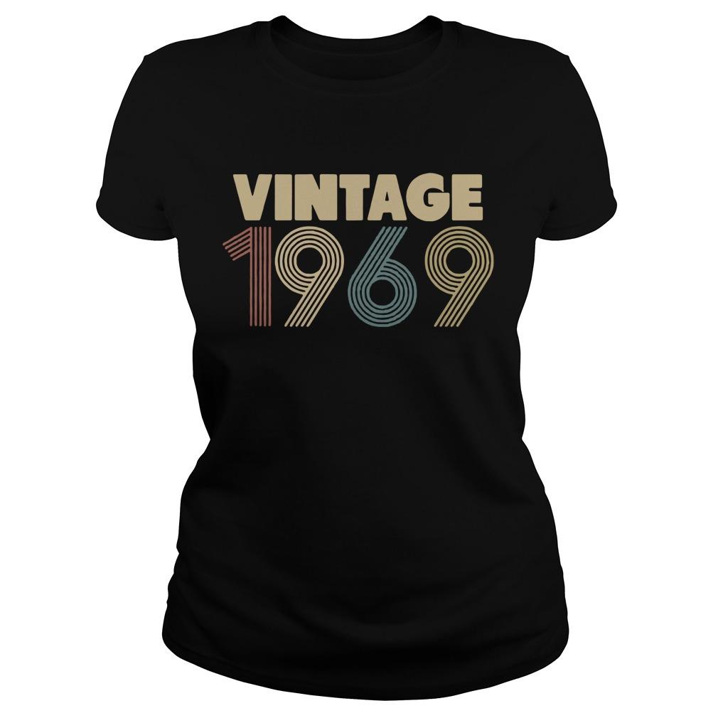 Vintage 1969 Ladies Tee