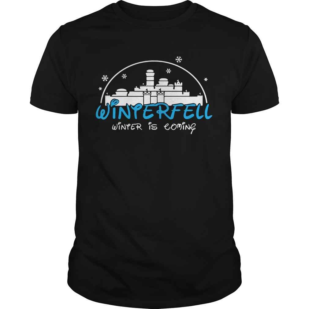 Winterfell Winter is coming Game of Thrones shirt
