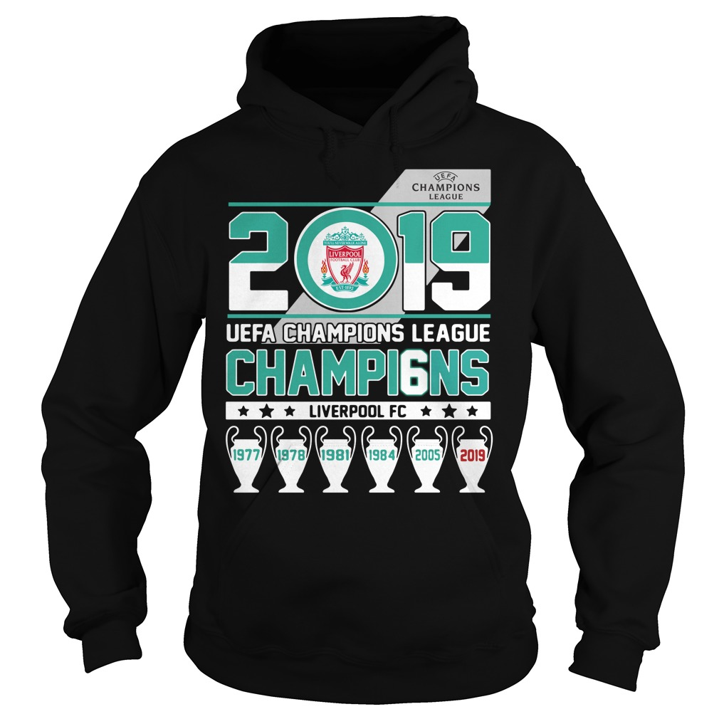 2019 UEFA Champions League Champions Liverpool FC Hoodie