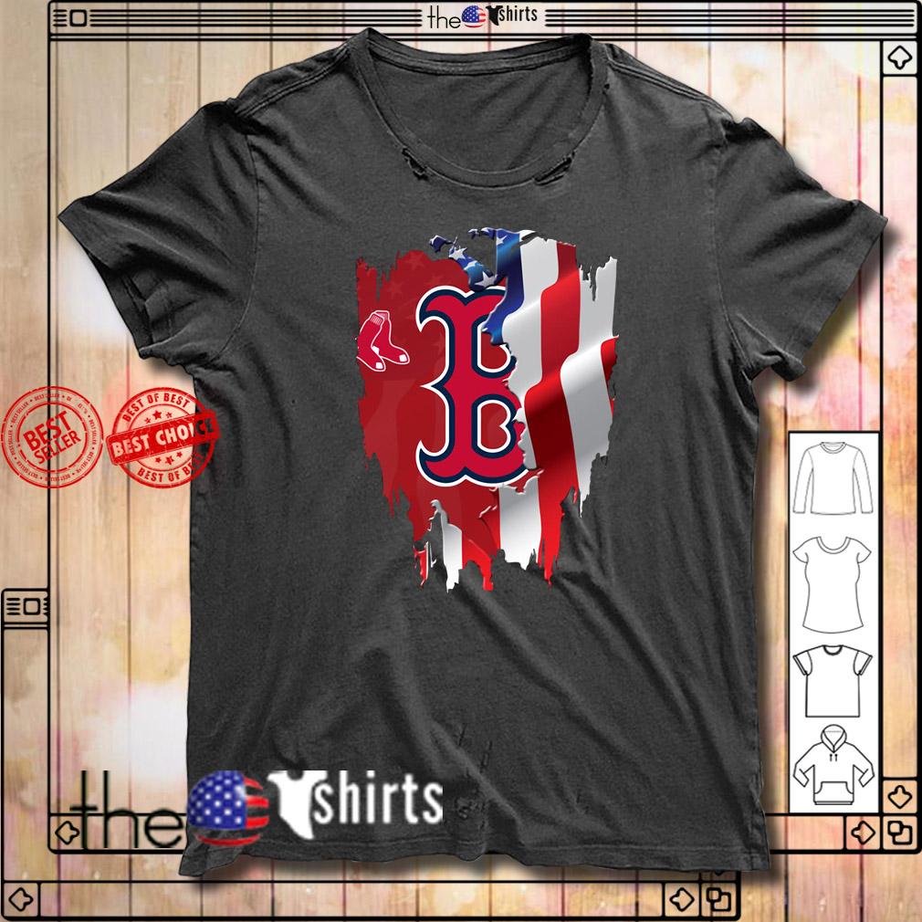 4th Of July Boston Red Sox America flag shirt