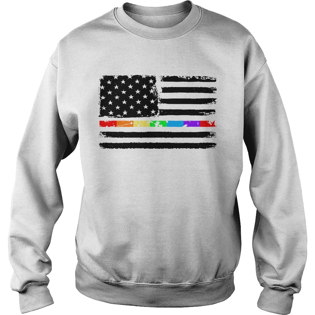 4th Of July independence day America flag LGBT Sweater