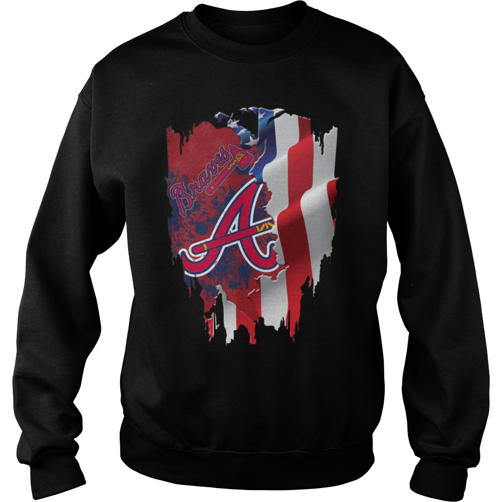 4th of July independence day Atlanta Braves Sweater