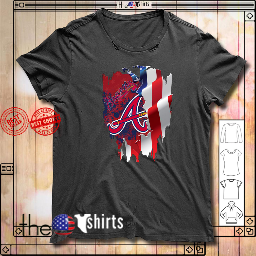 4th of July independence day Atlanta Braves shirt