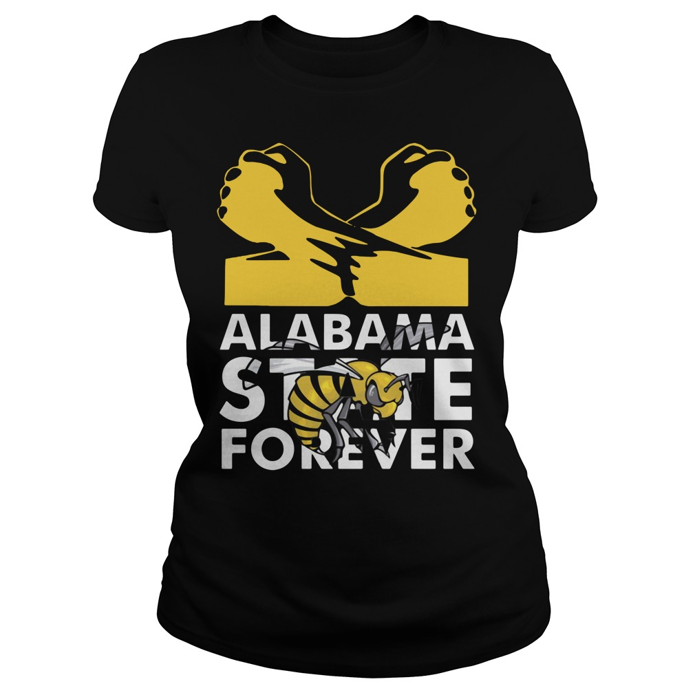 Alabama State forever Ladies Tee