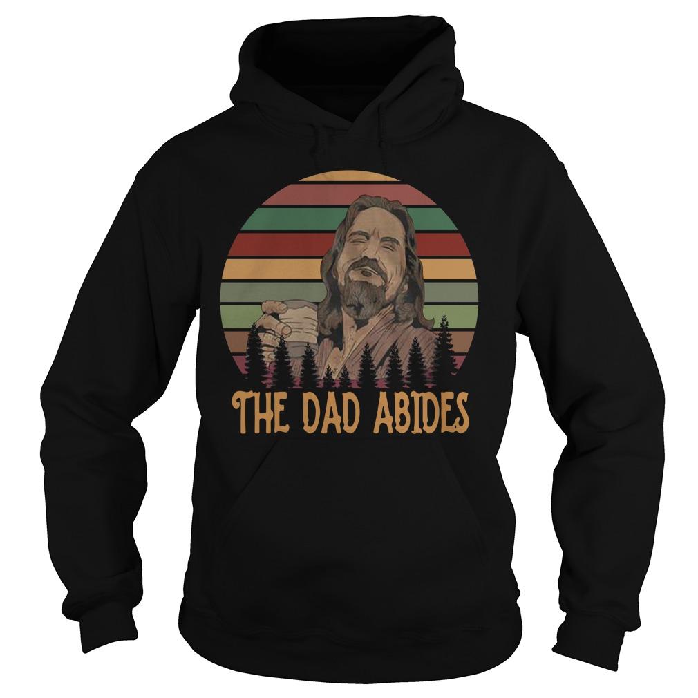 Big Lebowski the dad abides vintage Hoodie