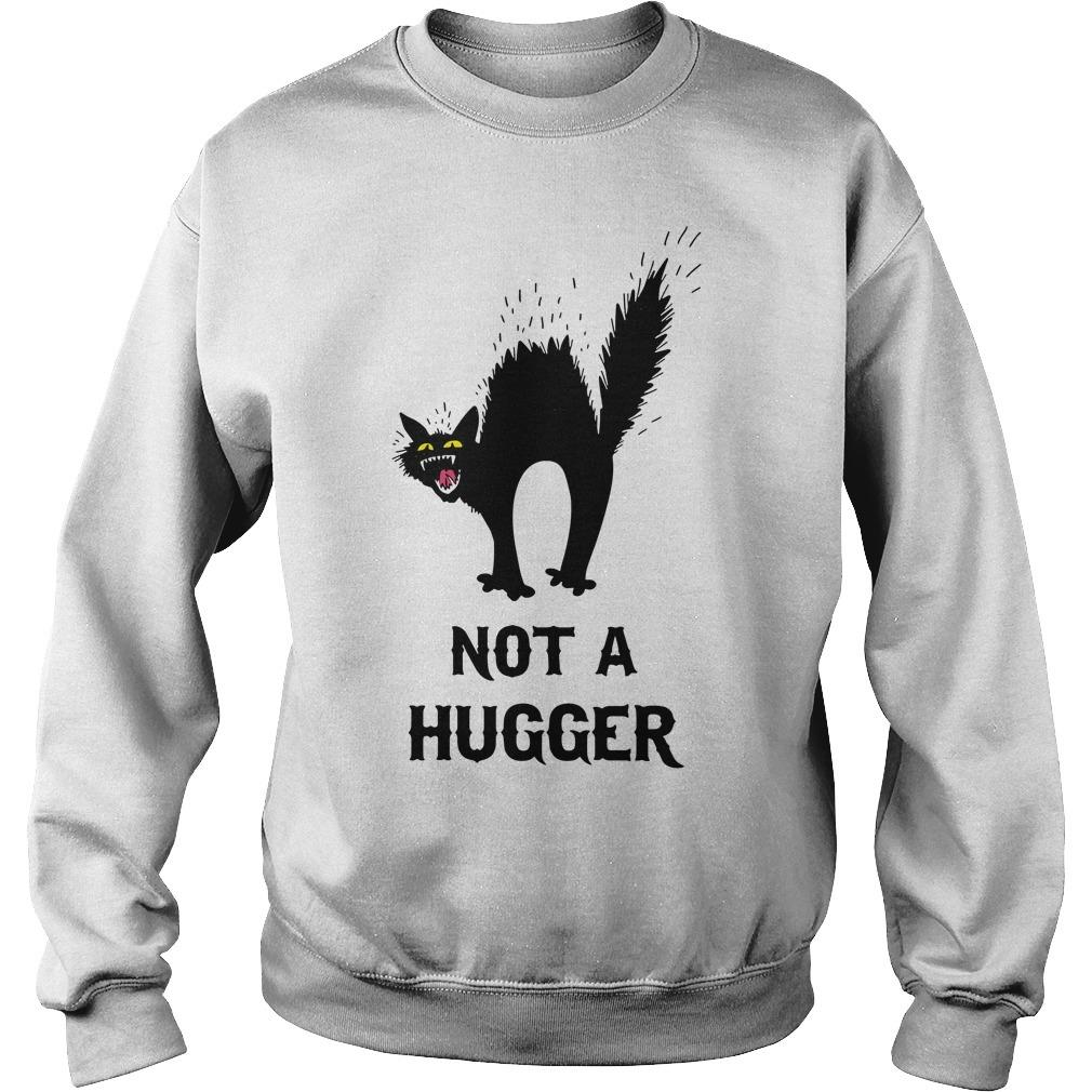 Black cat not a hugger Sweater