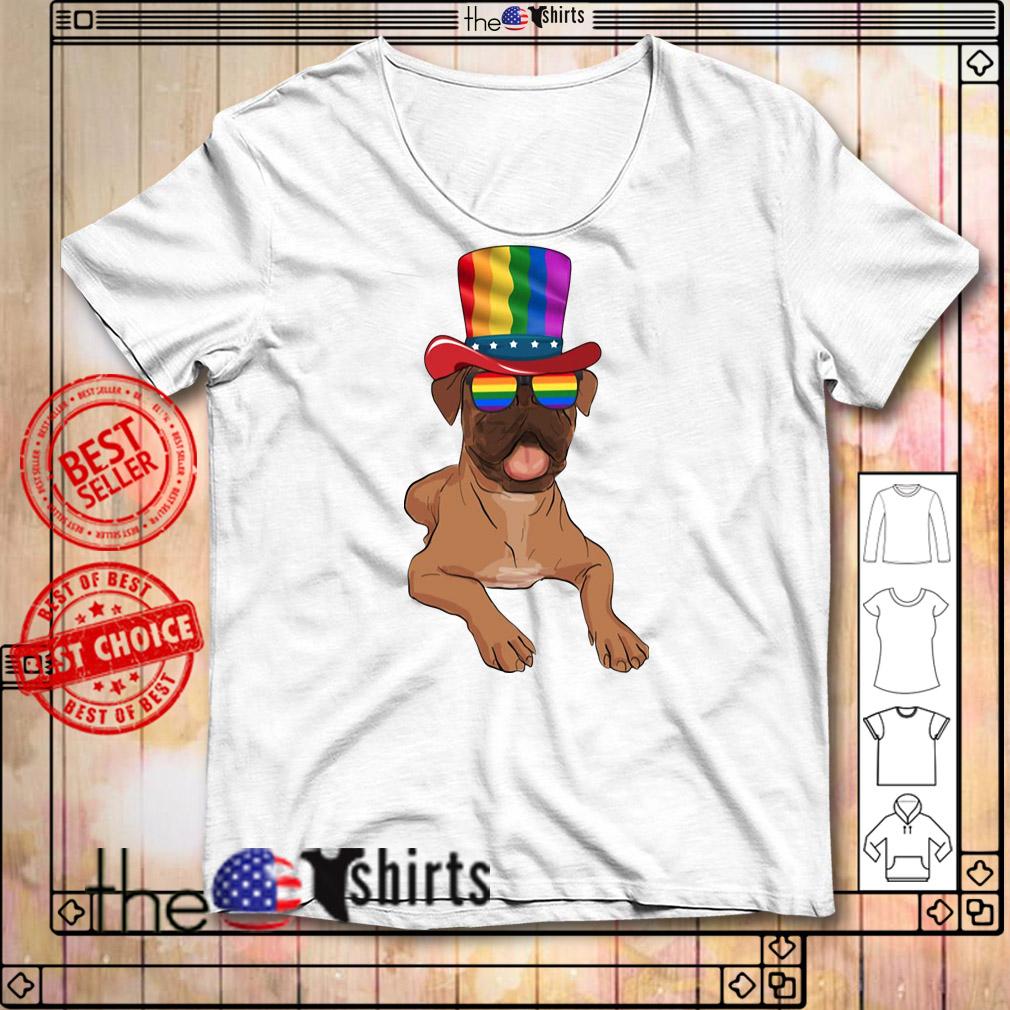 Boxers Gay pride LGBT rainbow flag LGBT shirt