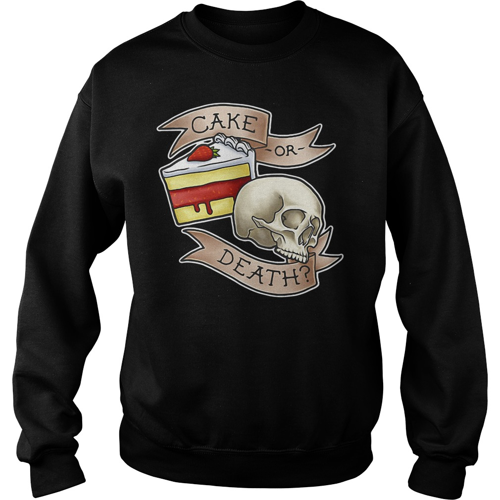 Cake or death Sweater