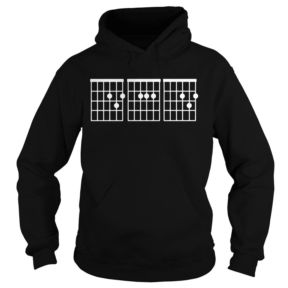 Dad Guitar Chords Hoodie