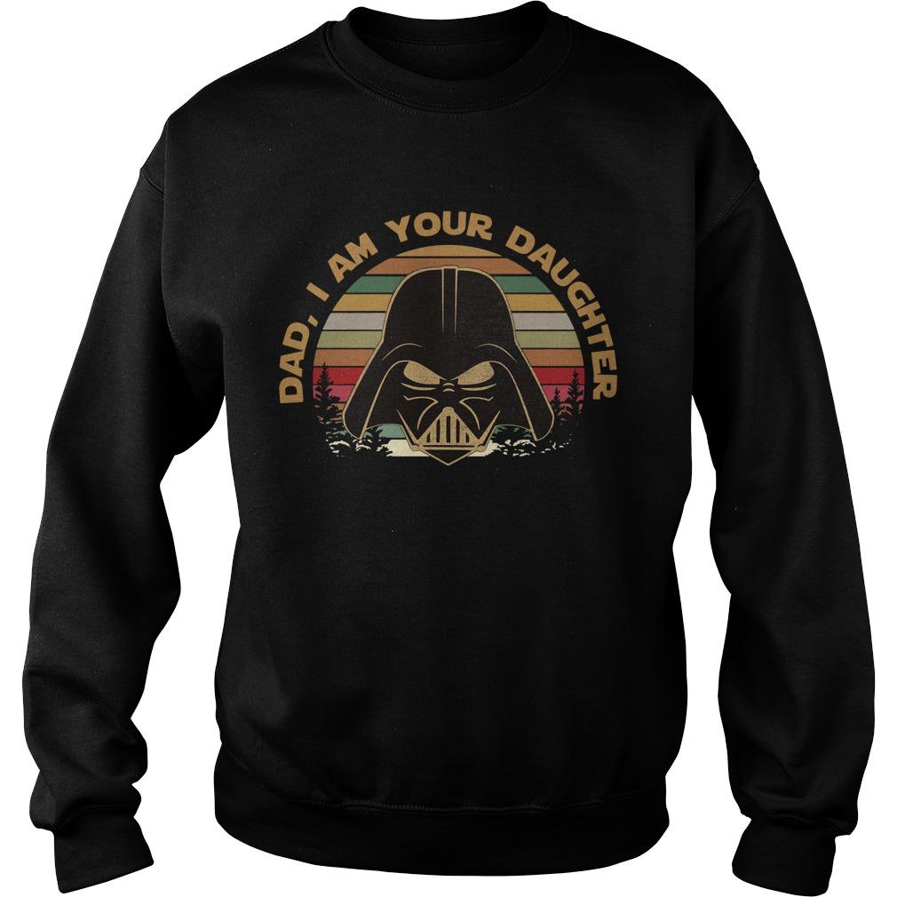 Darth Vader dad I am your daughter vintage Sweater