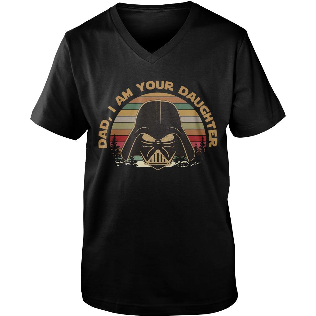 Darth Vader dad I am your daughter vintage Guy V-Neck