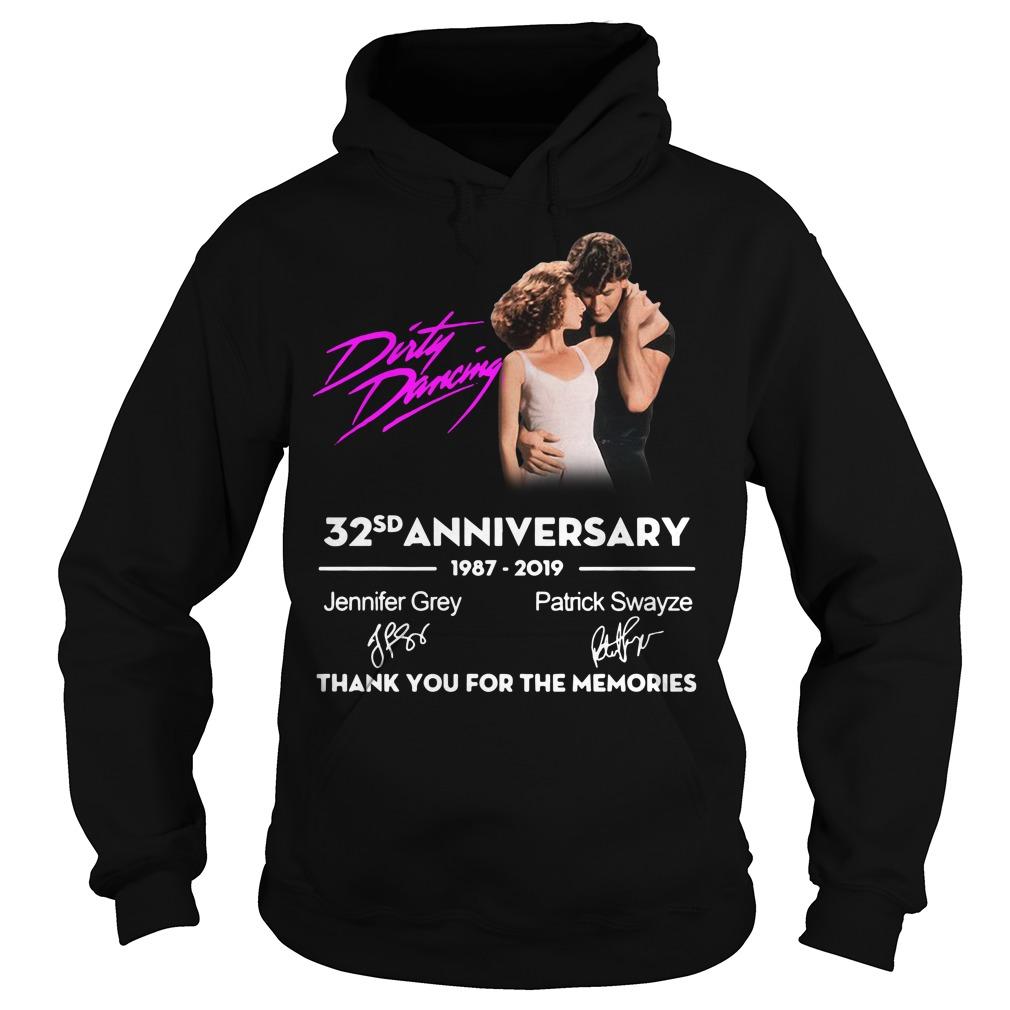 Dirty Dancing 32nd anniversary 1987-2019 signatures Hoodie
